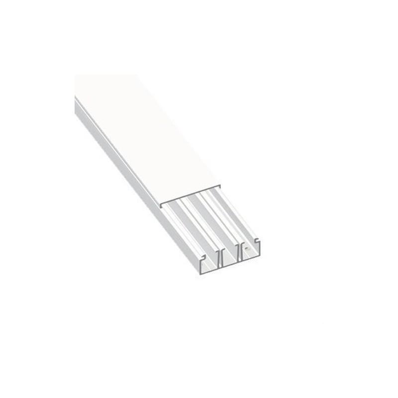 MOLDURA CON TABIQUE 78 PVC-M1 20x75 U23X BLANCO  NIEVE  con referencia 78147-2 de la marca UNEX.