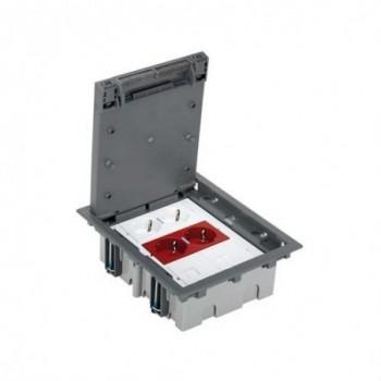 Kit Puesto trabajo SAI 3 módulos 500 CIMA blanco con referencia 52006302-030 de la marca SIMON.