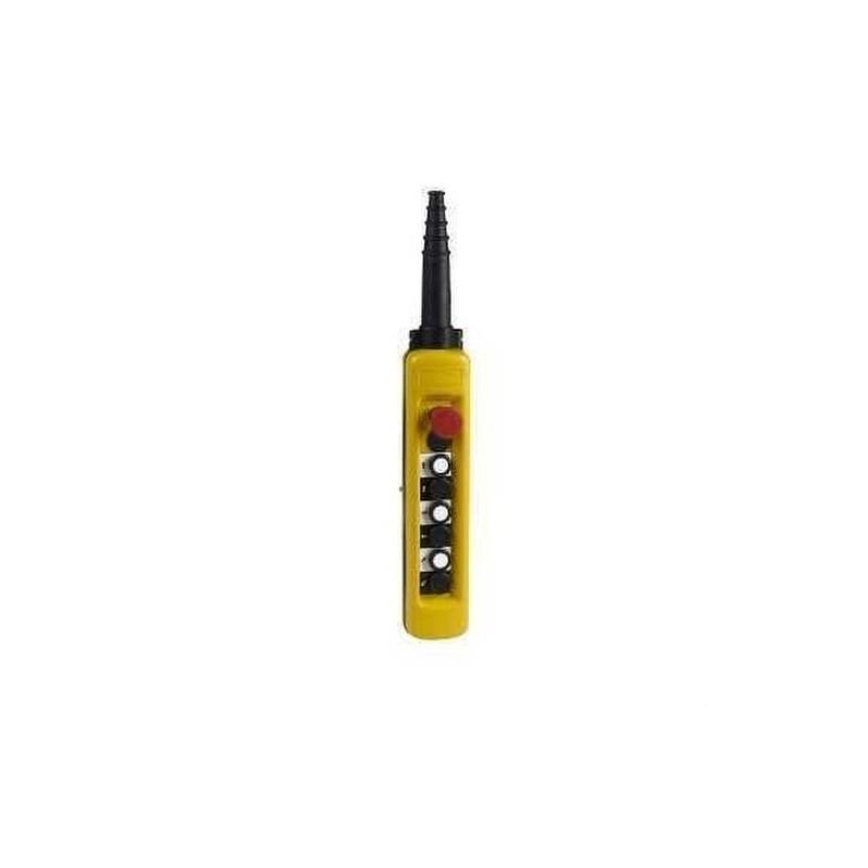 CAJA COLGANTE 4 PULSADOR +PARADA EMERGENCIA  con referencia XACA6713 de la marca SCHNEIDER ELEC.