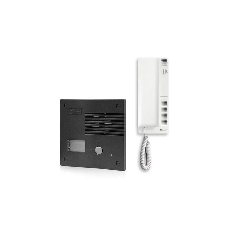 Kit audio K-201 1 vivienda grafito con referencia 11242014B de la marca GOLMAR.