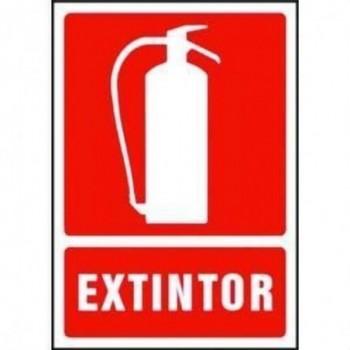 Senalizacion óptica seguridad SE/EXTIN -EXTINTOR- con referencia 21181001 de la marca GOLMAR.