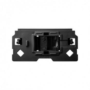 Adaptador Simon 100 con 1 conector RJ45 CAT6 con referencia 10000544-039 de la marca SIMON.