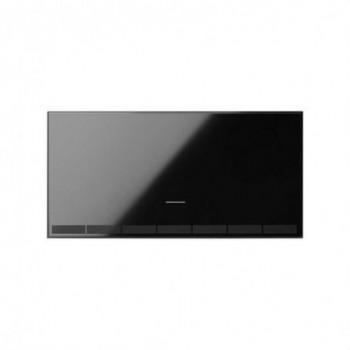 Tecla interruptor master regulable IO Simon 100 negro con referencia 10002021-138 de la marca SIMON.