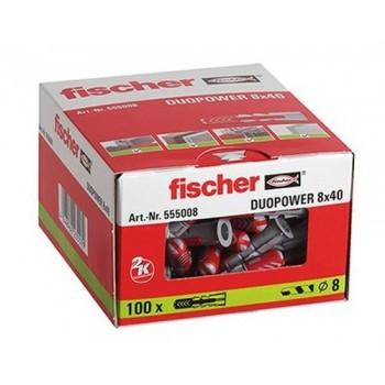 Taco DUOPOWER 8x40 con referencia 555008 de la marca FISCHER.