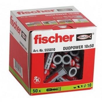 Taco DUOPOWER 10x50 con referencia 555010 de la marca FISCHER.