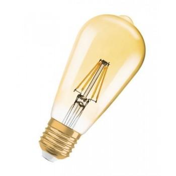 Lámpara LED VINTAGE 1906 EDISON 21 E27 filamento GOLD 2