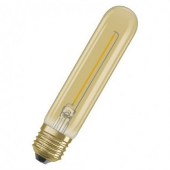 Lámpara LED VINTAGE 1906 TUBULAR 20 E27 filamento GOLD 2