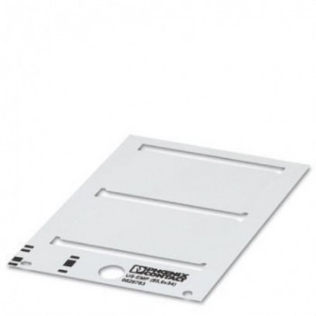 ROTULO US-EMP THERMOMARK CARD 49x15 BLANCO  con referencia 0828780 de la marca PHOENIX.