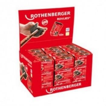 Limpiatubos Rovlies (10u) con referencia 45268 de la marca ROTHENBERGER.