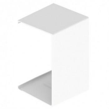 Pieza de unión blanco RAL9010 60x100 U24X con referencia 31533-02 de la marca UNEX.