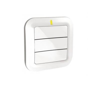 Interruptor emisor 3 teclas TYXIA2330 con referencia 6351379 de la marca DELTA DORE.