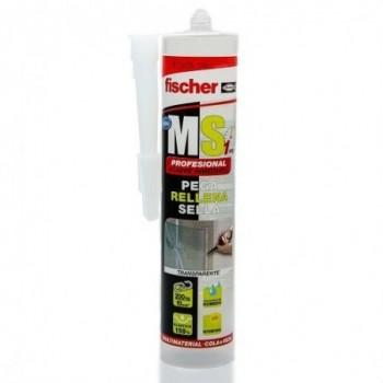 Adhesivo MS express cristal 80ml con referencia 538275 de la marca FISCHER.