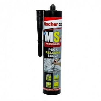 Sellante MS profesional gris con referencia 540328 de la marca FISCHER.