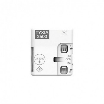 Emisor nanomódulo TYXIA 2600 2 vías multifunción con referencia 6351399 de la marca DELTA DORE.