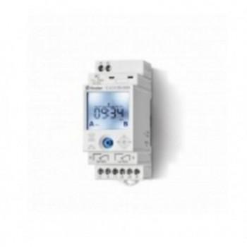 INTERRUPTOR HORARIO SEMANAL 1CO ON/OFF/PULSO NFC con referencia 126182300000 de la marca FINDER.