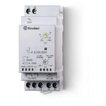 RELE CREPUSCULAR MODULAR IP65 16A  con referencia 114182300000POA de la marca FINDER.