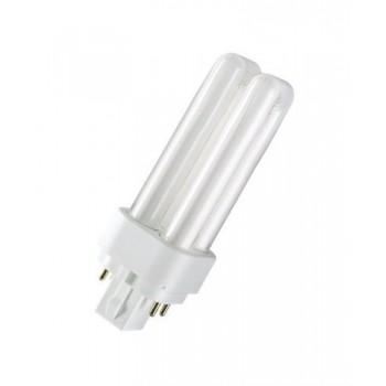Lámpara DULUX D/E 18W/830 G24q-2 con referencia 4050300327211 de la marca OSRAM.