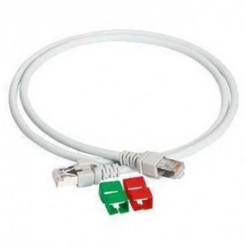 LATIGUILLO F/UTP CATEGORIA 6 300Mhz LSZH 1m  con referencia VDIP184646010 de la marca SCHNEIDER ELEC.