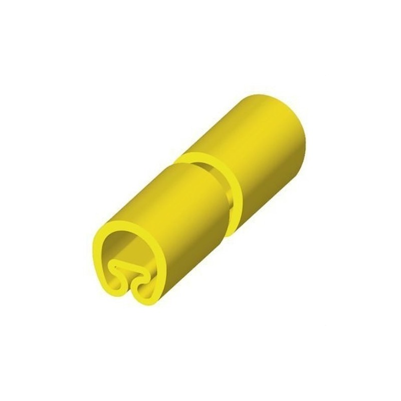 MANGUITO PVC PLASTICO PARA DIAMETRO 2-5 18mm AMARILLO con referencia 1851-M de la marca UNEX.