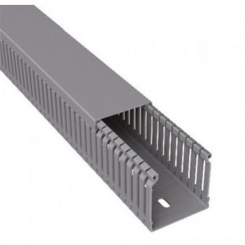CANAL PARA CABLEADO 77 PVC-M1 80x43 U23X GRIS  con referencia 80.40.77 de la marca UNEX.
