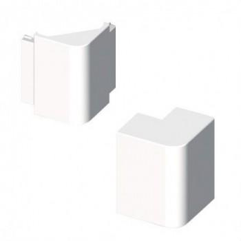 Angulo exterior PVC 72/73 Y 70 U24X blanco nieve con referencia 73271-2 de la marca UNEX.