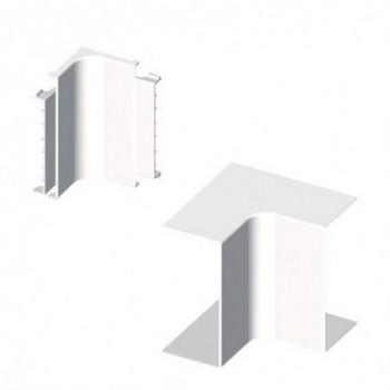 Angulo interior PVC 72/73 PARA 73072 U24X blanco nieve con referencia 73322-2 de la marca UNEX.