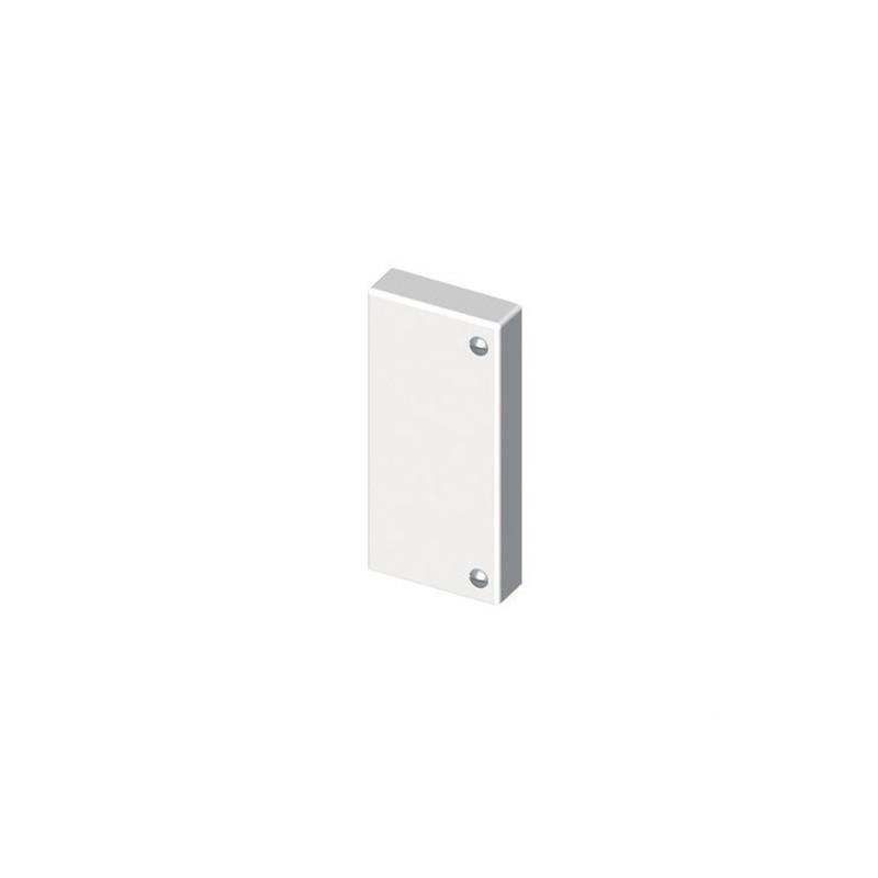 TAPA FINAL PVC 72/73 PARA 73086 U24X BLANCO NIEVE  con referencia 73386-2 de la marca UNEX.