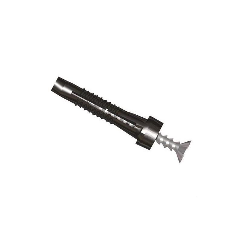 TACO PARA CANAL U63X DIAMETRO 6mm POLIAMIDA 6 con referencia 25106 de la marca UNEX.