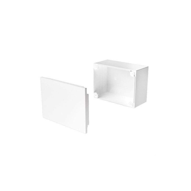 CAJA CONEXION DERIVACION PVC 110x110x45 U24X BLANCO NIEVE  con referencia 78457-2 de la marca UNEX.