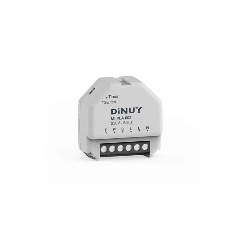 Minutero electrónico 3000W incandescente 230V con referencia MI PLA 002 de la marca DINUY.
