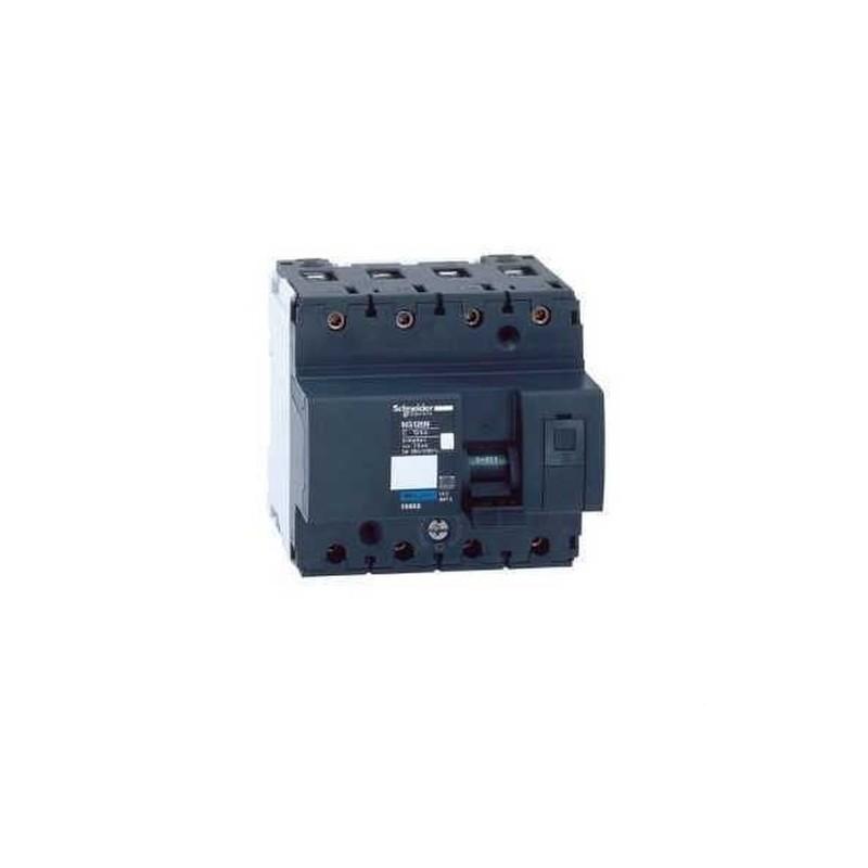 MAGNETOTERMICO NG125N 4 POLOS 100A CURVA-C con referencia 18660 de la marca SCHNEIDER ELEC.