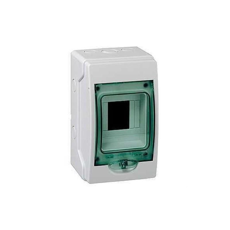 MINICOFRET KAEDRA 1FILA 4 MODULOS 200x123x112  con referencia 13976 de la marca SCHNEIDER ELEC.