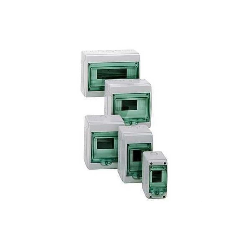 MINICOFRET KAEDRA 1 FILA 12 MODULOS 200x267x112 con referencia 13979 de la marca SCHNEIDER ELEC.