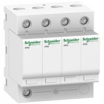 Limitador de sobretensión IPRD40 40KA 340V 3P+N con referencia A9L16569 de la marca SCHNEIDER ELECTRIC.