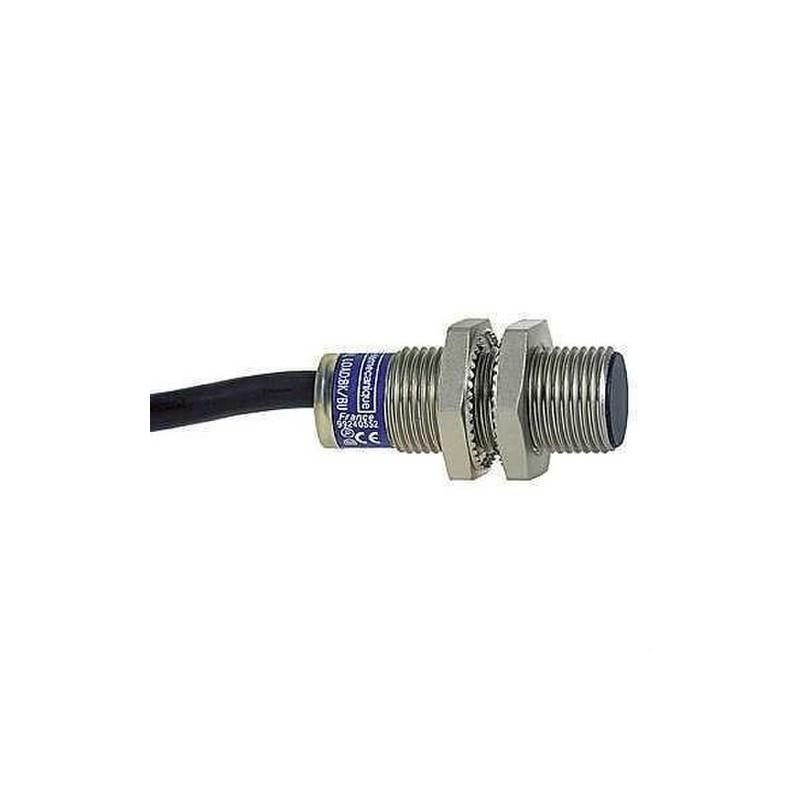DETECTOR 10-38VCC 4mm CONTACTO ABIERTO PNP 5m con referencia XS1N12PA349L1 de la marca TELEMECANIQUE.