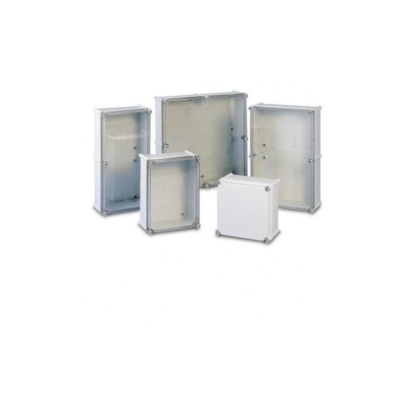 Caja Uninter S33 Mt64 540x360x171 Con Tapa Transparente Cahors Electrosumi