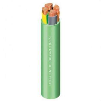 Cable Exzhellent 1000V RZ1-K( AS)3G6 Clase 5 verde R100 con referencia 1997309VDP de la marca GENERAL CABLE.