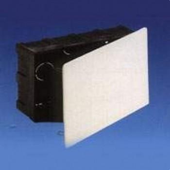 Caja 250x250x65 tapa blanco con garra metálica con referencia 624 de la marca SOLERA.