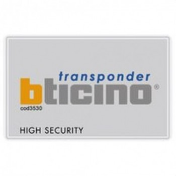 TARJETA TRANSPONDER con referencia 3530S de la marca BTICINO.