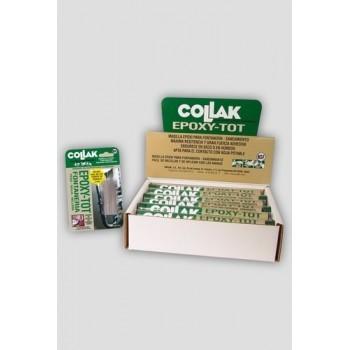 MASILLA EPOXY-TOT 114g PARA FONTANERIA  con referencia 48500 de la marca COLLAK.
