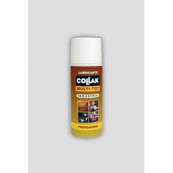 SPRAY LUBRICANTE MULTI-TOT 400ml  con referencia 713400 de la marca COLLAK.