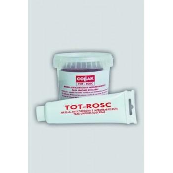 MASILLA+CANAMO TOT-ROSC PARA UNION ROSCA 200g  con referencia 770200 de la marca COLLAK.