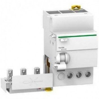 BLOQUE/BLOQUEO DIFERENCIAL QUICK VIGI IC60 3 POLOS 25A 300mA-AC con referencia A9Q14325 de la marca SCHNEIDER ELEC.