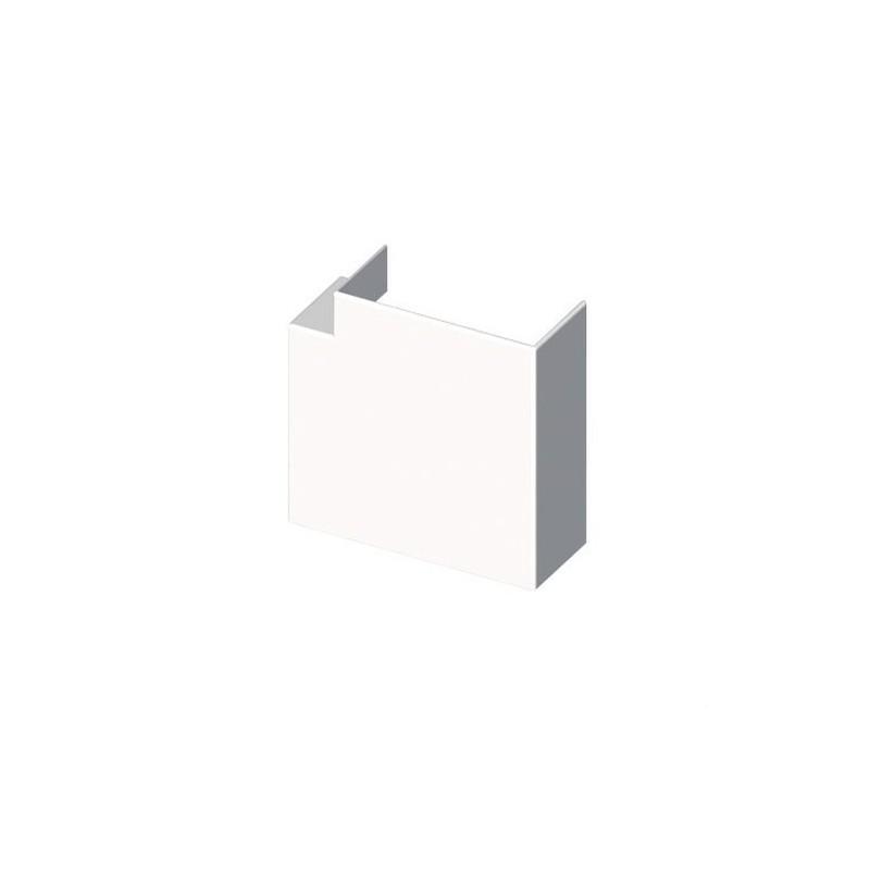 Angulo plano PVC 72/73 Y 70 U24X blanco nieve con referencia 73233-2 de la marca UNEX.