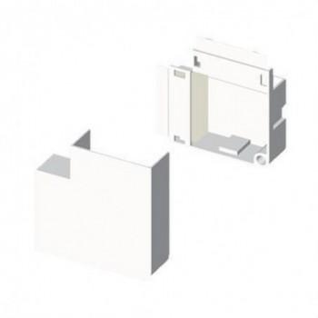 Angulo plano PVC P/78033/78083 U24X blanco nieve con referencia 78233-2 de la marca UNEX.
