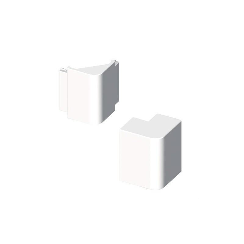Angulo exterior PVC 72/73 PARA 73082 U24X blanco nieve con referencia 73282-2 de la marca UNEX.