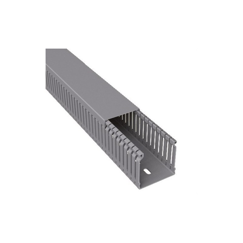 CANAL PARA CABLEADO 77 PVC-M1 60x30 U23X GRIS  con referencia 60.30.77 de la marca UNEX.