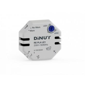 Regulador lámparas led 230V/12V con referencia RE PLA LE1 de la marca DINUY.
