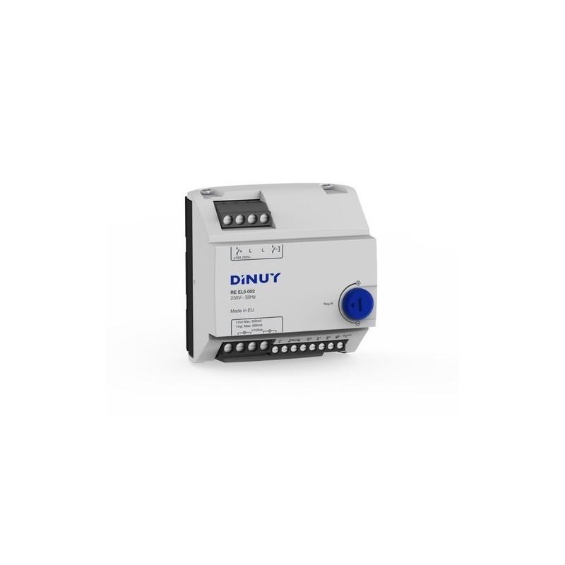 Regulador para 200 reactancias eléctricoas regulables con referencia RE EL5 002 de la marca DINUY.