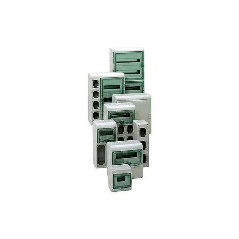 MINICOFRET KAEDRA 1FILA 6 MODULOS 200x159x112  con referencia 13977 de la marca SCHNEIDER ELEC.